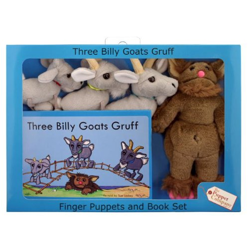 Compare Textbook Prices for Three Billy Goats Gruff  ISBN 9781908633163 by The Puppet Company Ltd