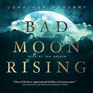 Bad Moon Rising audiobook cover art