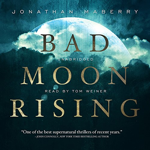 Bad Moon Rising audiobook cover art