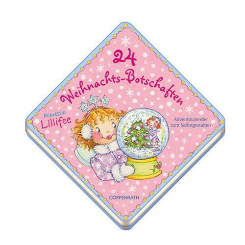 Prinzessin Lillifee - 24 Weihnachtsbotschaften: Adventskalender zum Selbstgestalten