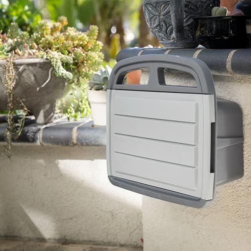 Quantity limited WUIIEN 150' ft Water Weekly update Hose Reel Wall Bracket Cabinet Storage Box