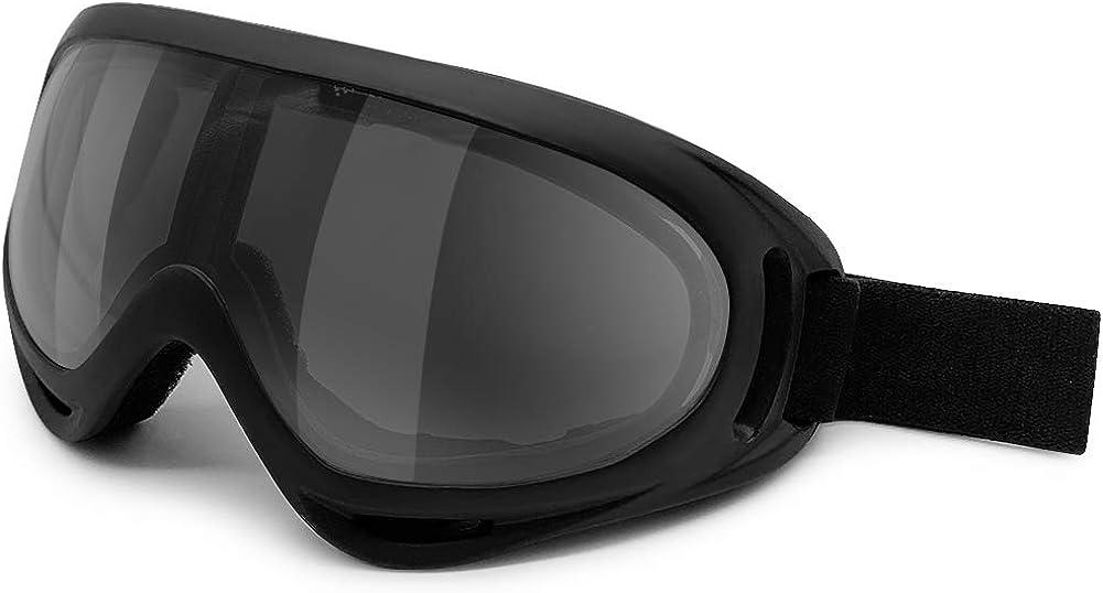 Ski Goggles Women Men Kids QZL Motorcycle Goggles 2021 Update Version