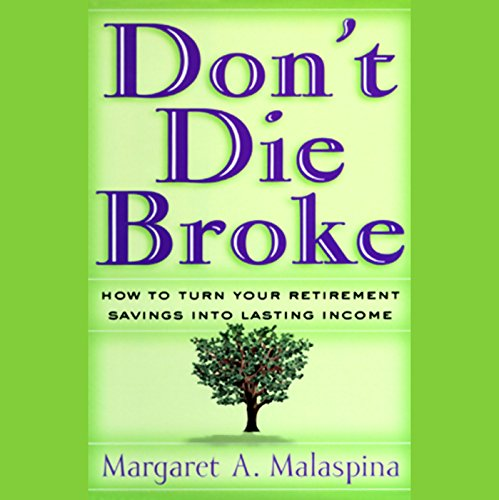 Don't Die Broke audiobook cover art