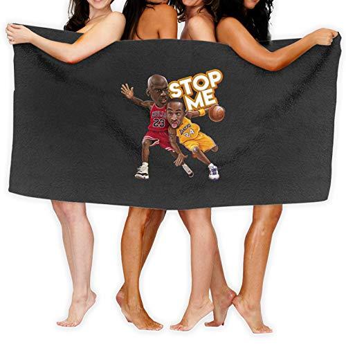 Stop Me Kobe Bryant Vs Micheal Jordan Nba Legend Game Toalla de baño de secado rápido
