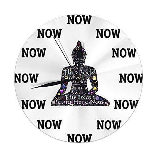 gardenia store O'Clock Gara de casa Reloj de Pared Decor 9.84 Pulgadas