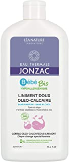 Eau Thermale Jonzac Diaper Change Special Formula Organic Cosmetic Baby Care Gentle Oleo-Calcareous Liniment, 500 ml