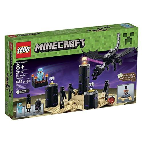LEGO Minecraft 21117 The Ender Dragon Includes A Steve Minifigure Light Brick