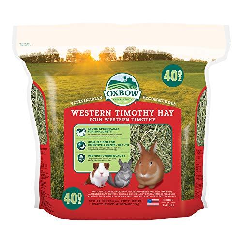 Oxbow Western Timothy Hay, 40-Ounce Bag