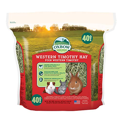 Oxbow Animal Health Hay Western Timothy Hay – 40 oz.