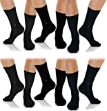 3 Calcetines Pierre Cardin de color Negro - Fabricados en Hilo de escocia Elástico