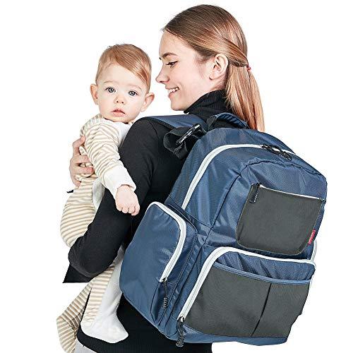 Rugzak voor reistas, koeltassen, mama en papa, waterbestendig, multifunctioneel.