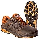 Cofra zapatos de seguridad Strikeout 19030-002 S3 SRC, Marrón, 19030-002