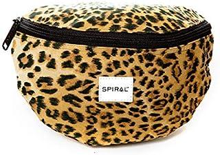Spiral Leopard Bum Bag Riñonera de Marcha 23 Centimeters 2 Marrón (Brown)