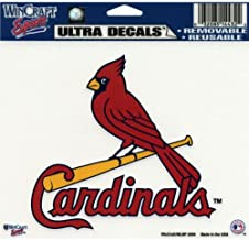 WinCraft MLB St. Louis Cardinals Multi-Use Colored Decal, 5