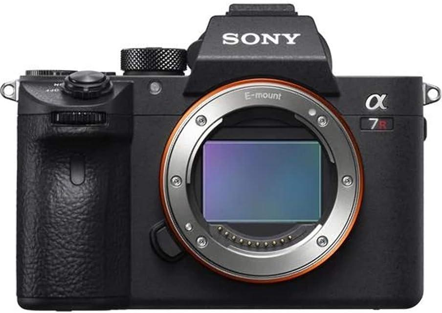 Sony Alpha A7R III - Cámara Digital sin Espejo (Solo Cuerpo)