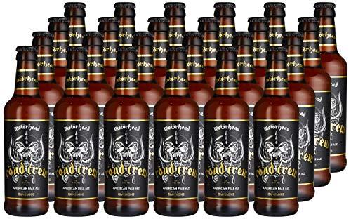 Motorhead Road Crew Dunkles Bier, 24er Pack (24 x 0.33 l)