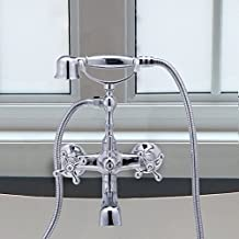 CO-Z Bathroom Clawfoot Shower Bathtub Combo Faucet 4.7''-6.12