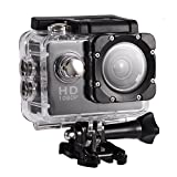 EECOO Action Cam 4K Wasserdicht Aktion Kamera - 16MP Ultra Full HD WiFi Helmkamera Unterwasserkamera...