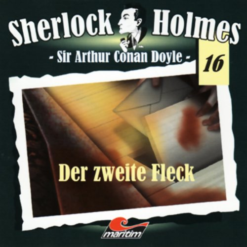 Der zweite Fleck audiobook cover art