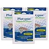Platypus Ortho Flosser for Braces 30-Count (Pack of 3)