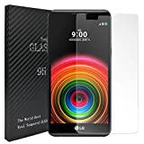 Laybomo für LG X Power (K220) Schutzfolie 9H Festigkeit Tempered Glass Bildschirmschutzfolie 99prozent Ultra-klar Panzerglas Folie Schutzfolie