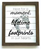 """Gie Blessings Miscarriage Gifts for Mothers I Sympathy Memorial Loss of a Baby Bereavement Sign Gift - 7.5"""" x 9"""" Comes in a Gift Box I Grieving Remembrance"""