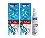 NUNCAS Drops Set 2 Confezioni PROFUMA Biancheria, Classic 100ML più Deodorante SALVATESSUTI Note di Pulito 150 ML