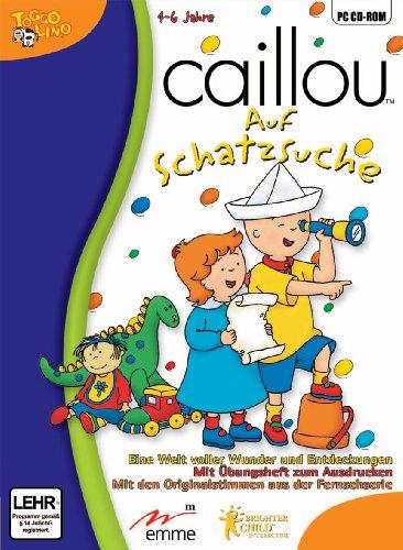 Caillou - Auf Schatzsuche