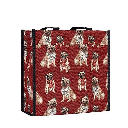 Signare Bolso tapiz Shopper de moda mujer bolso de hombro animal