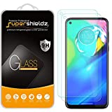 (2 Pack) Supershieldz for Motorola Moto G Power [Not Fit for 2021 Version] Tempered Glass Screen Protector, Anti Scratch, Bubble Free