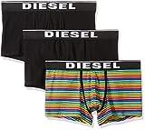 Diesel Men's UMBX-DAMIENTHREEPACK Boxer-Brief 3pack, Black/Multi, L