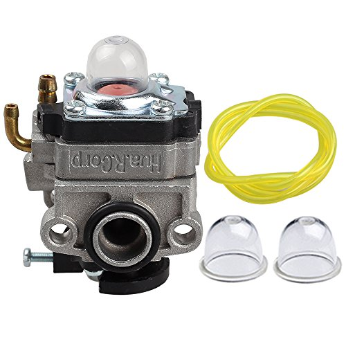 Hilom 753-1225 Carburetor for WYL-240-1 WYL-196 MTD MP425 Troy-Bilt TB575SS TB525CS TB26TB TB475SS TB490BC TB425CS Yardman Bolen Carb Gas Trimmer Replace 753-04296 753-05251