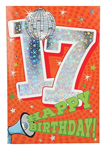 Depesche 5698.027 Glückwunschkarte mit Musik, 17. Geburtstag