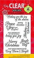 Hero Arts Merry Christmas メッセージクリアスタンプ