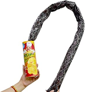 Potato Chip Snake In A Can Gag Gift Prank Large Size for April Fools' Day and Halloween