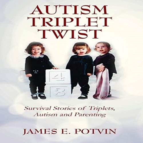 Autism Triplet Twist audiobook cover art