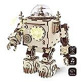Robotime de Corte de láser de Madera de Rompecabezas-DIY Mecanismo de música de Caja de Madera Modelo de construcción de cumpleaños niños y Adultos (Orpheus)