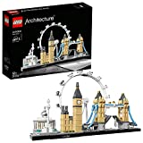 LEGO 21034 Architecture London, Skyline-Kollektion, London Eye, Big Ben, Tower Bridge, Bauset, Geschenkidee für Sammler