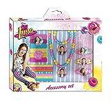 Soy Luna- Set de 18 accesorios para belleza, unica (Kids Euroswan WDSL073)