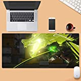 WYQLZ Gaming Mouse Pad Large Mouse Mat Overwatch OW Genji Keyboard Mat Extended Mousepad for Computer Desktop PC Mouse Pad (Color : 800300mm, Size : 5mm)