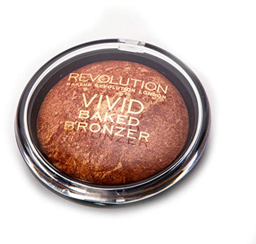MAKEUP REVOLUTION Vivid Baked Bronzer Rock on World, 13 g