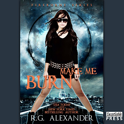 Make Me Burn audiobook cover art