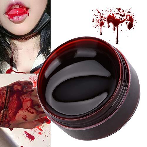 Falso Sangre Gel, Esponja Comida Ingredientes 15ml, 30ml Zombi Maquillaje Equipo por Vspera de Todos los Santos Disfraz