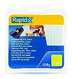 Rapid, 40107358, Bâtons de colle thermofusible, Pour PVC et câbles, Transparent,...