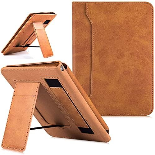Capa com suporte de poliuretano para Kindle Paperwhite 10ª geração [Versão 2018, Modelo Nº PQ94WIF] - Alça de mão/bolso e despertar/hibernar automático