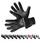 BPS 3mm & 5mm Double-Lined Neoprene Wetsuit Gloves...