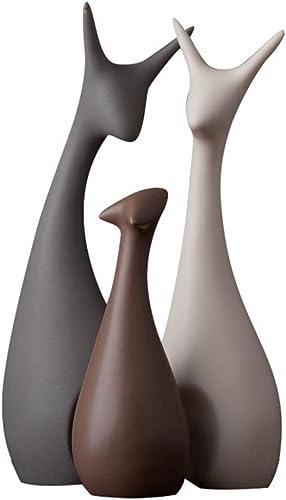 small fish Décoration d'animaux en Porcelaine Deer Artisanat en céramique en Art ameublement créatif Ornements Famill...