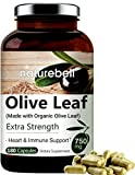 NatureBell HM180C Organic Olive Leaf Extract 750mg, Active Polyphenols and...