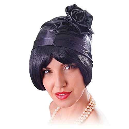 Bristol Novelty BH618 Cloche Bonnet pour femme Noir Taille unique