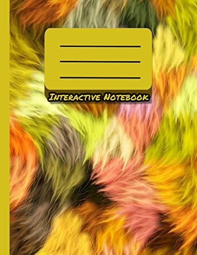 Interactive Notebook: INB Template Composition Book: Pre-made Table of Contents, Numbered Pages, Sketch Paper (left output side), Wide Ruled (right ... Glossary area Softcover Paperback 8.5 x 11.